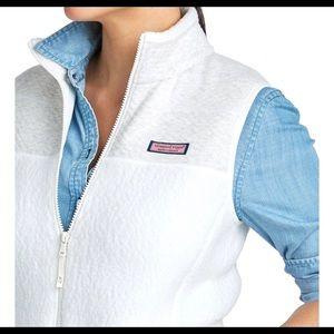 Vineyard Vines Sherpa Shirt Vest size S